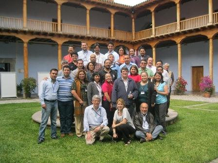 Participantes del curso para formadores