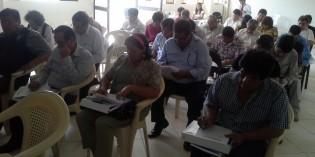 Realizan talleres sobre Desarrollo Territorial con funcionarios locales en Huacho y Puno