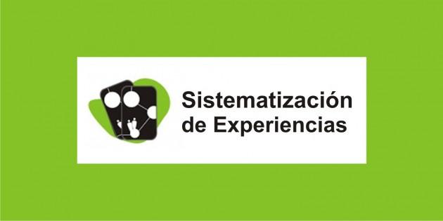 Nuevos documentos de sistematización de experiencias de formación