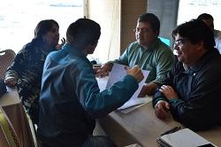 Participantes del Diplomado en Innovación Territorial Aplicada en Antofagasta, Chile.