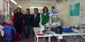 Arequipa. Emprendimiento del sector confección textil del distrito Cayma
