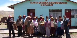 Los proyectos con enfoque de Desarrollo Económico Territorial ejecutados en Perú