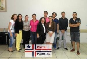 Integrantes del grupo de participantes de Palotina. Imagen original publicada en http://www.portalpalotina.com.br