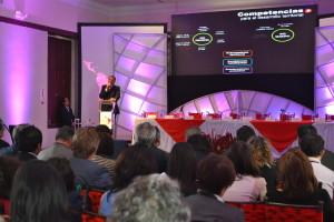 Jorge Glas, Vicepresidente de la República del Ecuador expone acerca del Rol del Desarrollo Territorial en los procesos de cambio de la matriz  productiva.