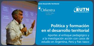 """Nuevo libro """"Política y formación en el desarrollo Territorial"""""""