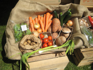 Organic Vegetable Boxes by Andy Roberts en Flickr
