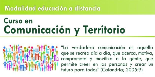"""Culmina el curso virtual """"Comunicación y Territorio"""""""
