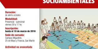 DIPLOMATURA EN GESTIÓN LOCAL DE RIESGOS SOCIO-AMBIENTALES – UNSAM (2016)