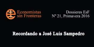 Economistas sin fronteras recuerdan a José Luis Sampedro