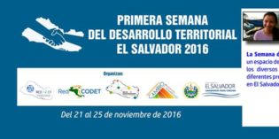 Semana del Desarrollo Territorial en El Salvador