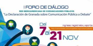 Invitan a participar del 1° Foro de Diálogo de la Red Iberoamericana de Comunicadores Públicos (RICP)