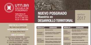 Abren convocatoria para Maestría en Desarrollo Territorial