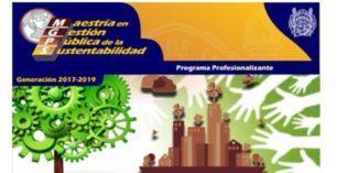 Convocatoria para Maestría en Gestión Pública de la Sustentabilidad 2017-2019