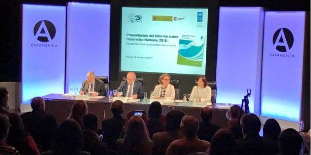 Durante la presentación del Informe de Desarrollo Humano 2016 se destaca la importancia de los gobiernos locales