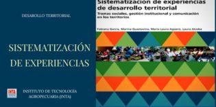 Sistematizacion de experiencias de desarrollo territorial. INTA