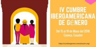 IV Cumbre Iberoamericana de agendas locales de género. (Cuenca, Ecuador).