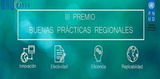 Lanzamiento del III Premio de Buenas Prácticas Regionales.