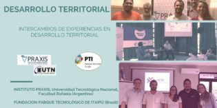 Intercambios de experiencias en desarrollo territorial.