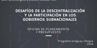 Desafíos de la descentralización y la participación en los gobiernos subnacionales.