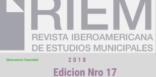 Edición nro 17, año 2018, Revista Iberoamericana. (RIEM)