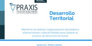 Desarrollo Territorial, intercambio Internacional. (Rafaela)