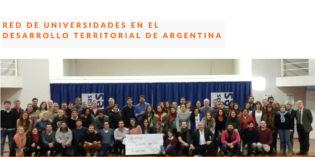 Se conforma la Red de Universidades en el Desarrollo Territorial de Argentina.