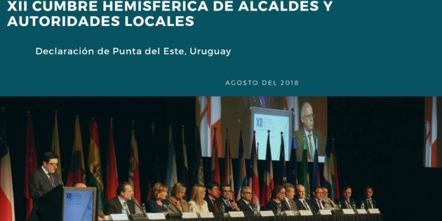 Declaración de Punta del Este, Uruguay.