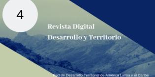 Publican Revista Digital, Desarrollo y Territorio. Nro 4