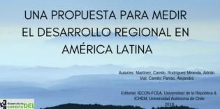 ÍNDICE DE DESARROLLO REGIONAL CHILE – URUGUAY