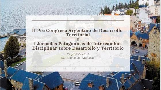 Pre Congreso de Desarrollo Territorial
