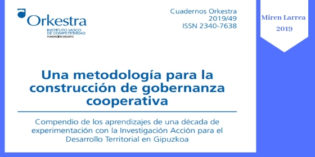 UNA METODOLOGÍA PARA LA CONSTRUCCIÓN DE GOBERNANZA COOPERATIVA