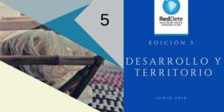 Revista Desarrollo y Territorio, edición Nro 5