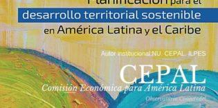 Desarrollo Territorial, planificación. CEPAL