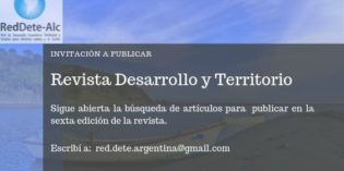 Invitación a publicar en la revista de la RED DETE ALC