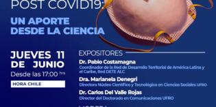 Participación de Pablo Costamagna en el conversatorio virtual, organizado por la Universidad de la Frontera (Chile)