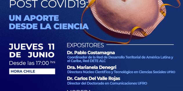 (Español) Participación de Pablo Costamagna en el conversatorio virtual, organizado por la Universidad de la Frontera (Chile)