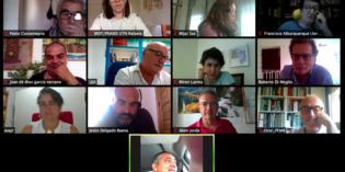 Se llevó a cabo una reunión con el grupo europeo de la Red Dete