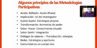 Se encuentra disponible la Sistematización con los resultados del Taller sobre Metodologías Participativas