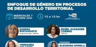 Enfoque de Género en procesos de Desarrollo Territorial