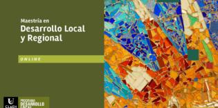 La Universidad CLAEH presenta una Maestría en Desarrollo Local y Regional (Online)